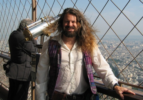 at the Eifel Tower, 5/2003